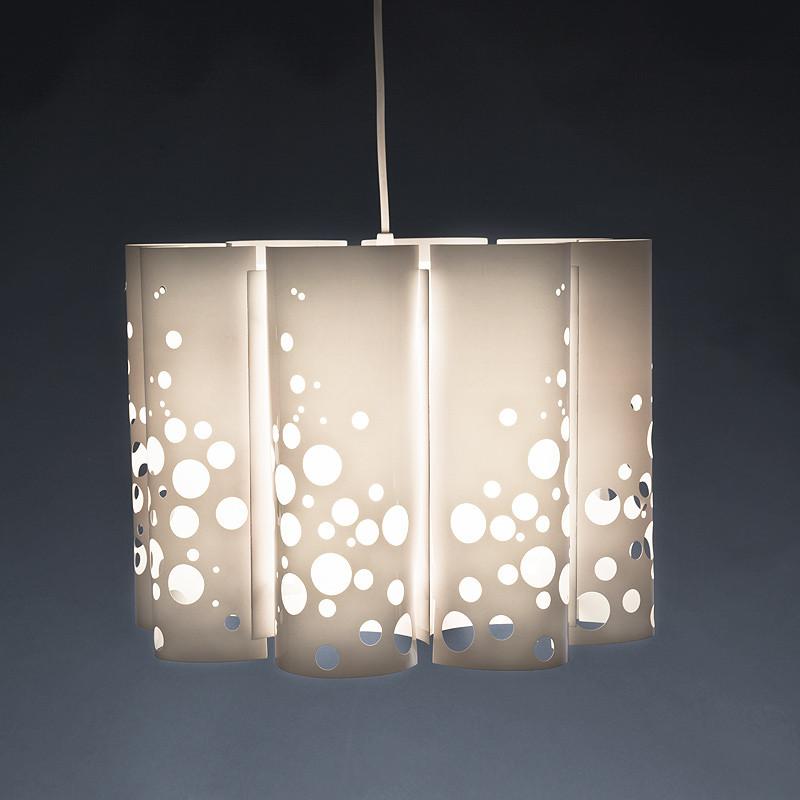 Mixed Bubbles Hvid Pendel Lampe