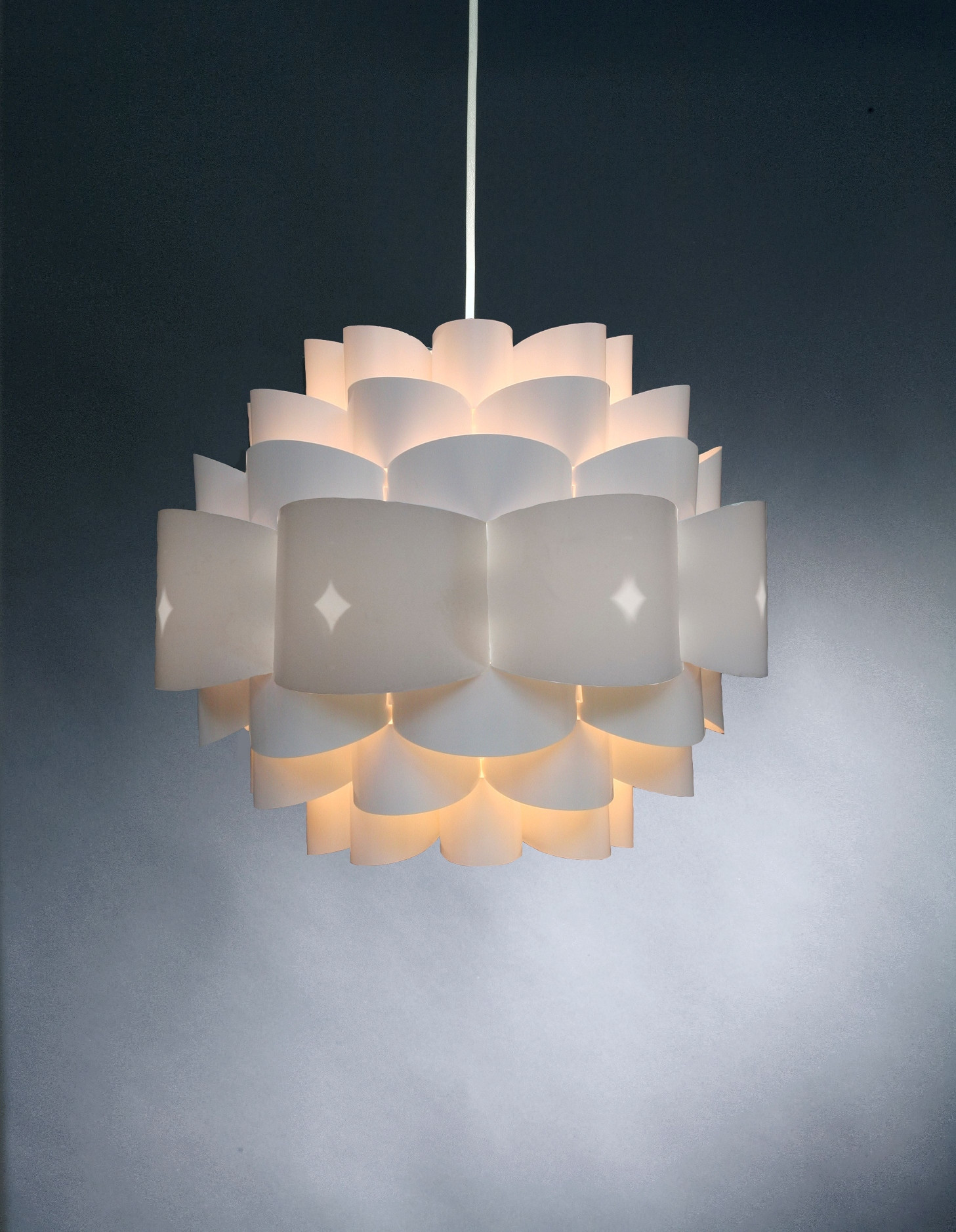 Diamond Hvid Lampe
