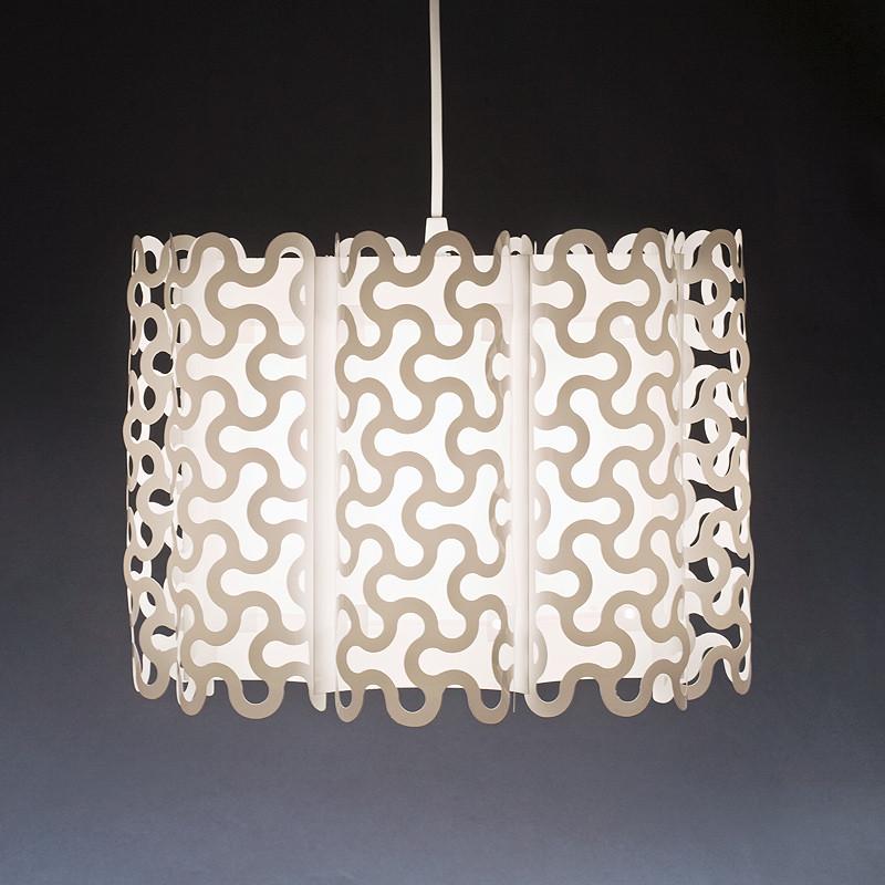 Puzzle Hvid Pendel Lampe
