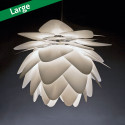 Pineapple Leaf Hvid Pendel Lampe