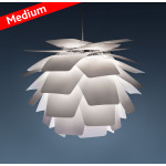 MEDIUM Pineapple Q Hvid Pendel Lampe