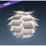 MINI Pineapple Q  Hvid Pendel Lampe
