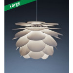 Pineapple Hvid Pendel Lampe