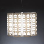 Coffee Bean White Pendant Lamp
