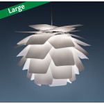 Pineapple Q White Pendant Lamp